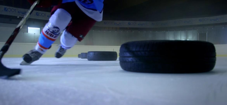 slalom hockey su ghiaccio