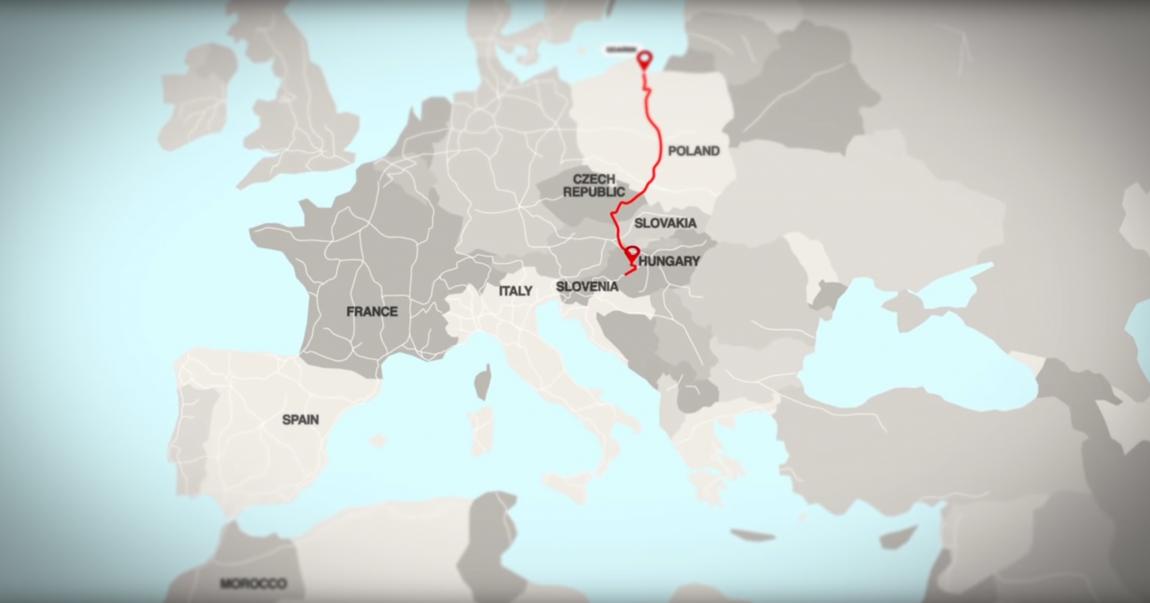 Mappa viaggio