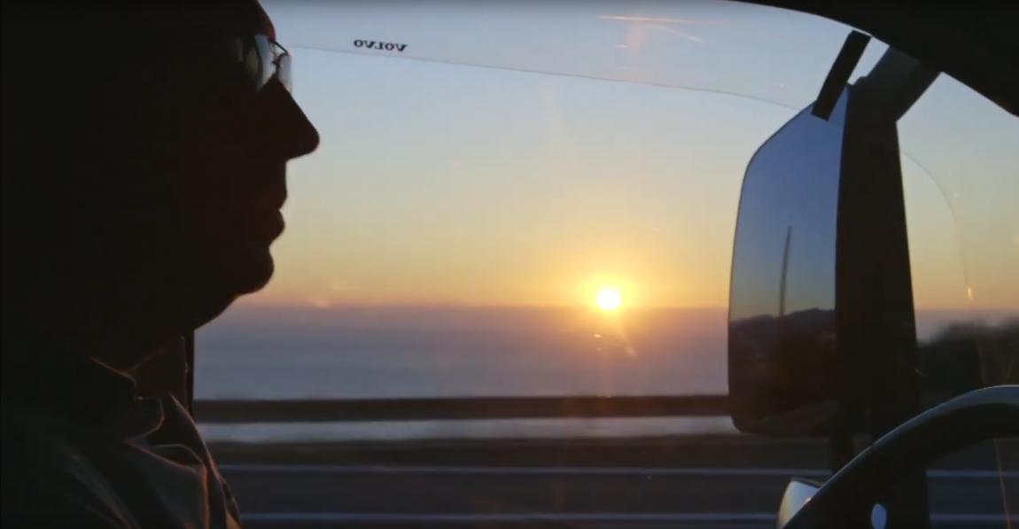 Camionista alba